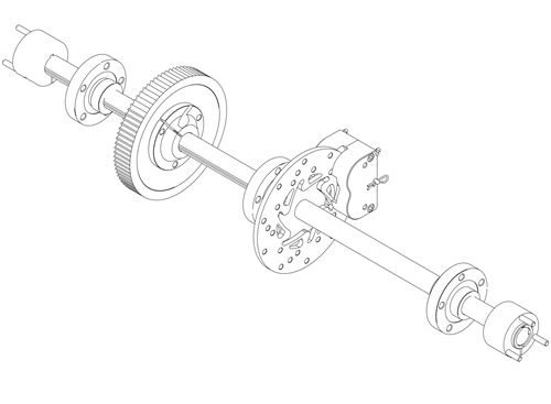 Rear Axle Unexploded