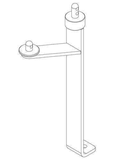 1849 NG1 Axle Cover & Belt Guard Support