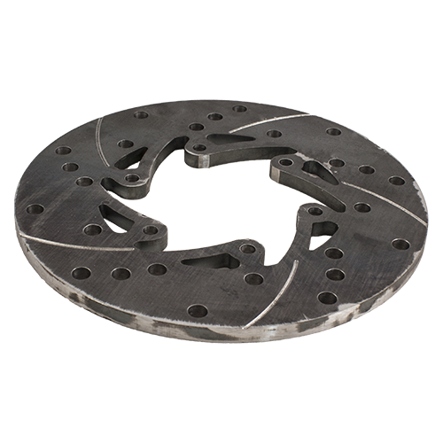 115-0115 - Biz 8mm Ventilated And Wiper Groover Brake Disc