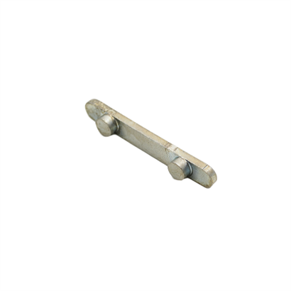 Axle 2 peg key way for 50mm axle (113-0015)