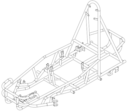 035-0001 JK6 Chassis